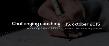 Challenging Coaching workshop