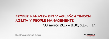 People management v agilných tímoch. Agilita v People managemente